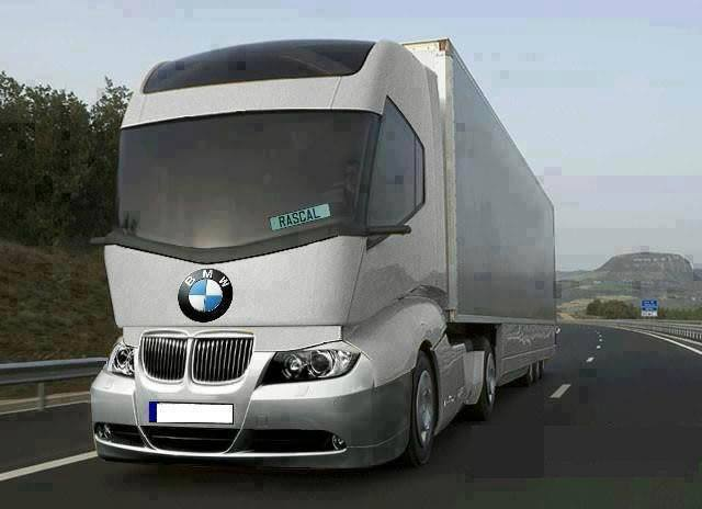 Awesome Bmw Truck Vyagers